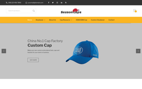 广州帽子厂 - Cap Factory - SeasonCaps.com